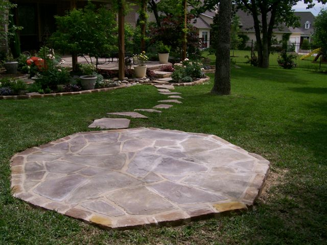 Front yard design home design ideas - Stone Walkways Fort Worth Concrete Patios Tx Stone